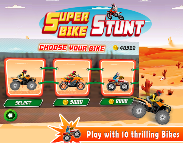 android Super Bike Stunt Screenshot 1