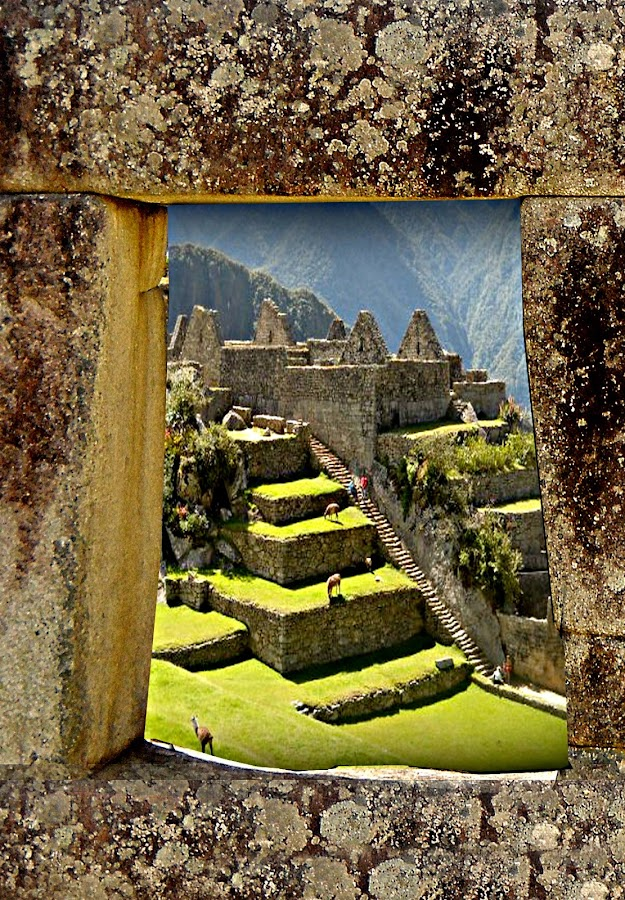 Macchu Picchu by Jime Fernandez - Travel Locations Landmarks