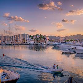Marmaris marina by Murat Besbudak - Transportation Boats ( muğla, marmaris, marina )