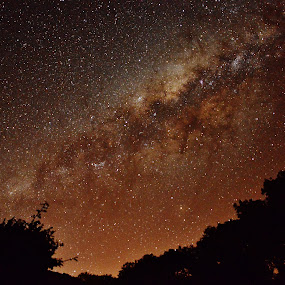 the starry sky Itapura SP Brazil by Marcello Toldi - Landscapes Starscapes