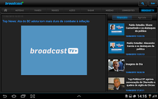 Screenshot of AE Broadcast