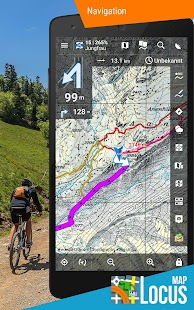 Locus Map Pro - Outdoor GPS Navigation und Karten Screenshot