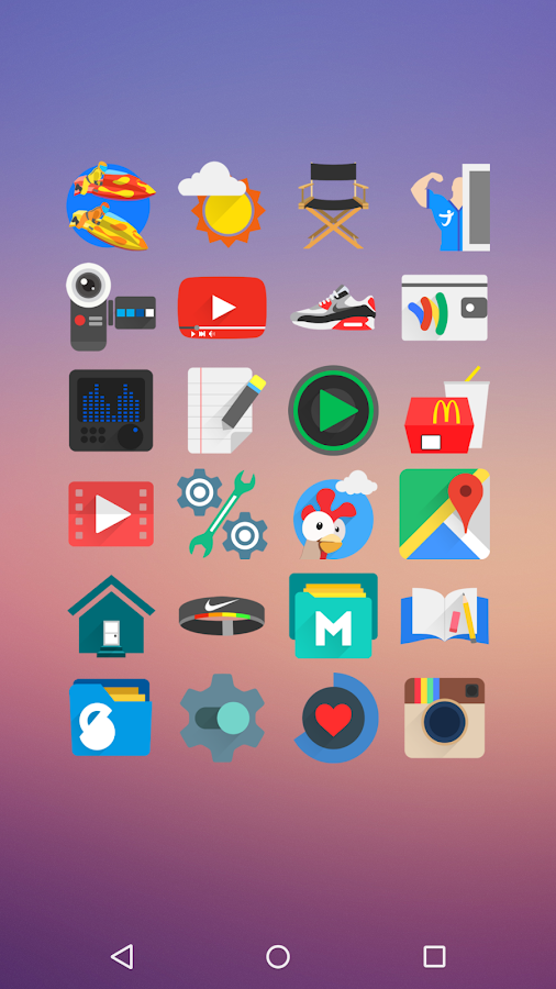 Rewun - Icon Pack Screenshot 2
