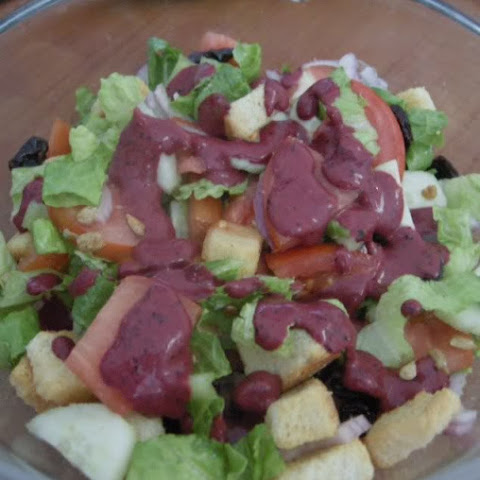 Blueberry Balsamic Salad Dressing