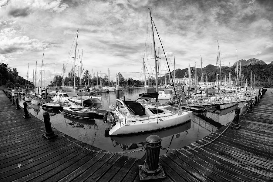 Langkawi by Sharulfizam Adam - Transportation Boats