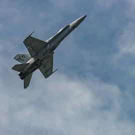 by Jan Gorzynik - Transportation Airplanes ( aerospace, f-18, airforce, technology, speed )