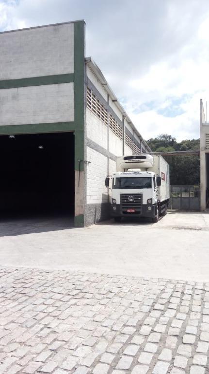 Galpão industrial para locação, Jardim dos Oliveiras, Embu das Artes.
