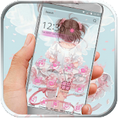 App Anime Pink Girl APK for Windows Phone