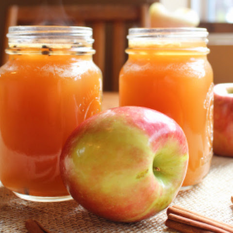 Spiked Ginger Apple Cider