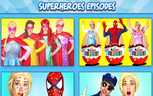Superhero & Princess Fun Video For PC