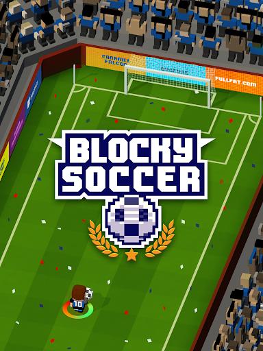 Blocky Soccer screenshot 7