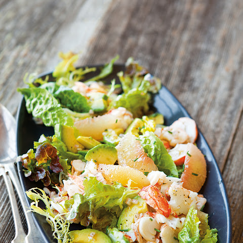 Lobster Salad with Grapefruit & Avocado