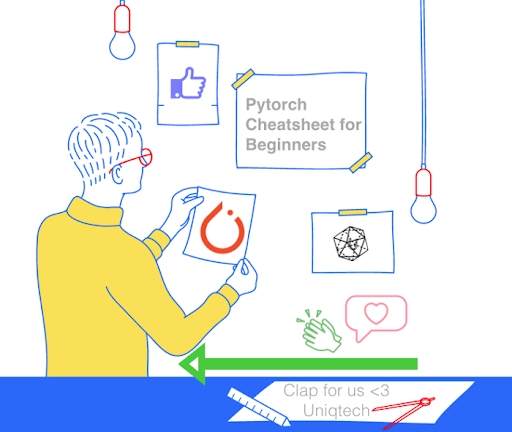 Pytorch Cheat Sheet for Beginners and Udacity Deep Learning Nanodegree