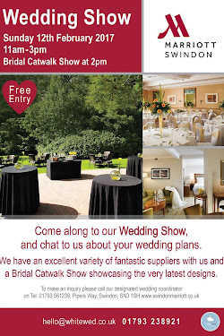 Swindon Marriott Wedding Show, Sunday 12th February 11-3pm