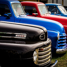 Car Show by Melissa Culp - Transportation Automobiles ( cars, carshow, muscle, frontends, oldtimers )