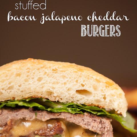 Bacon Jalapeno Cheddar Stuffed Burgers