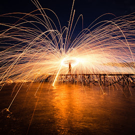 by Setiawan Halim - Abstract Light Painting
