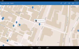 Screenshot of Split City Walks Guided Tour