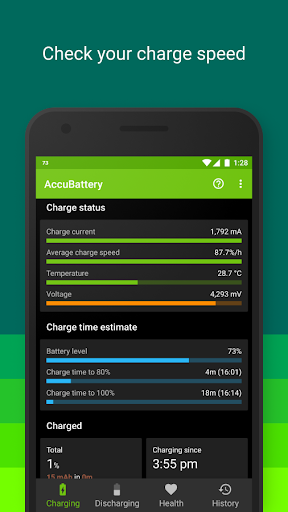 Accu​Battery screenshot 5