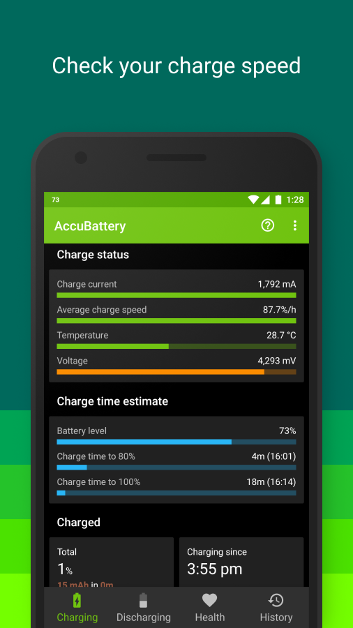 Accu​Battery Screenshot 4