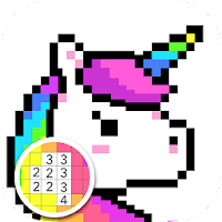 Pixel Coloring Book  Color by Number Pixel Art on PC / Windows 7.8.10 & MAC