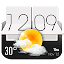 Sense Flip Clock & Weather for Lollipop - Android 5.0