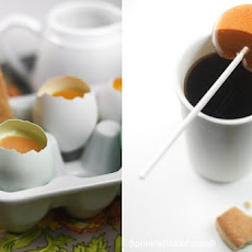 Boiled Custard Eggs and Shortbread Soldiers