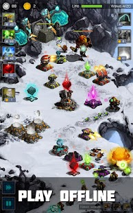 Ancient Planet Tower Defense offline Screenshot