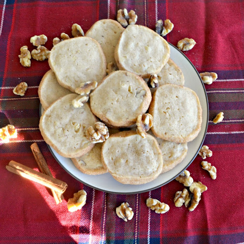 Cinnamon Walnut Icebox Cookies