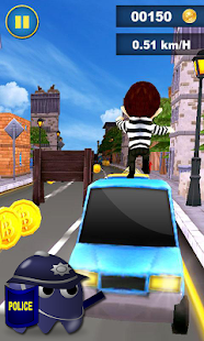 Crazy Escape Police - screenshot