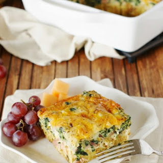 Ham Spinach Casserole Recipes