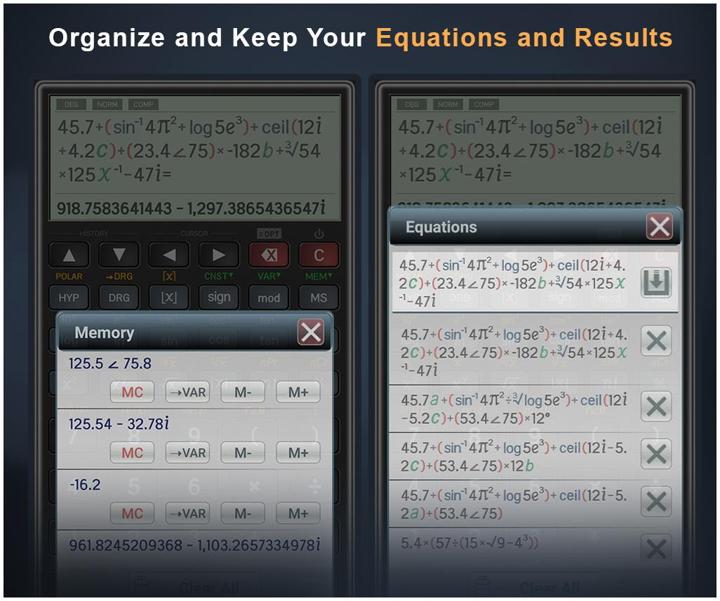Scientific Calculator Pro Screenshot 4
