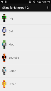 Skins for Minecraft 2 APK for Nokia