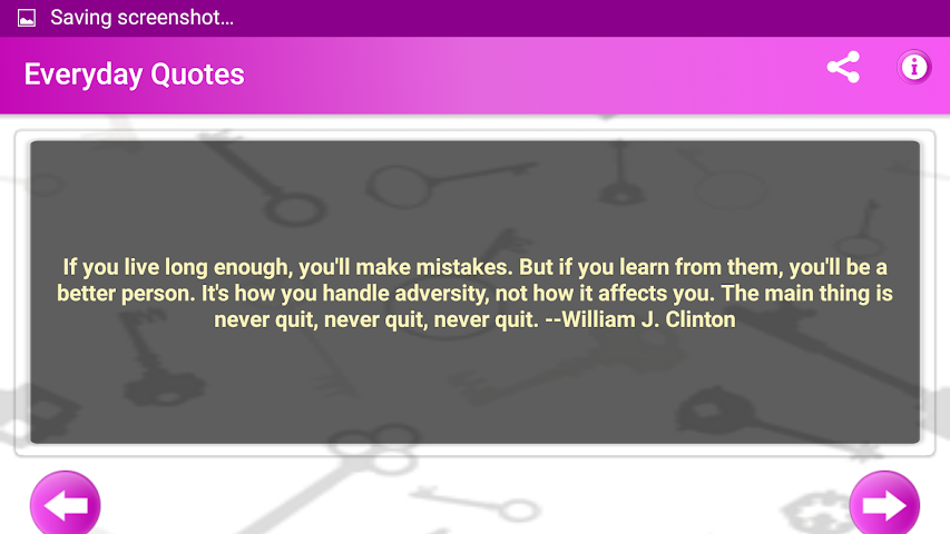 android Everyday Quotes & Status Screenshot 21
