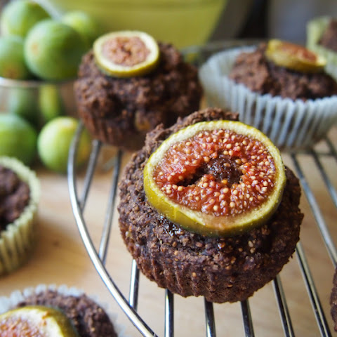 Fig and Carob Muffins