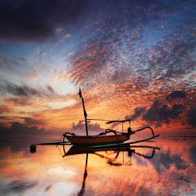 alone at the morning by Bayu Sanjaya - Landscapes Sunsets & Sunrises (  )