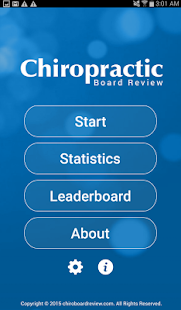 Chiro Board Review - screenshot