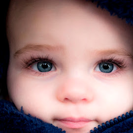 The Eyes Of A Child by Darren Judson - Babies & Children Child Portraits ( child, boys, blue eyes, baby, eyes,  )