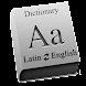 Latin - English