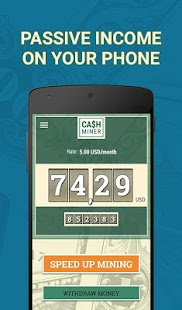 Сash Miner: Earn Money Online screenshot for Android