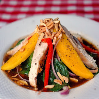 Chicken Spinach Salad Mango Recipes