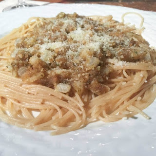 Spaghetti with Breadcrumbs