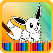 Game Coloring Book for Poke Monster APK for Kindle