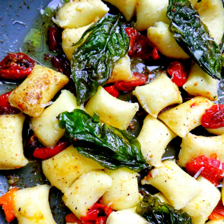 ... with Brown Butter, Basil and Blistered Tomatoes Recipe | Yummly