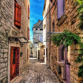 Trogir / Croatia by Dado Barić - City,  Street & Park  Neighborhoods ( dalmacija, street, croatia, dalmatia, trgir )
