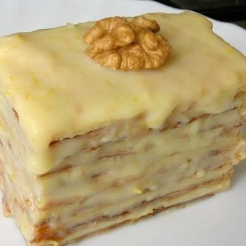Puff Pastry With Condensed Milk.