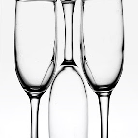 by Heru Sulistiono - Artistic Objects Glass ( champagne glasses )