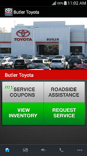 Butler Toyota - screenshot