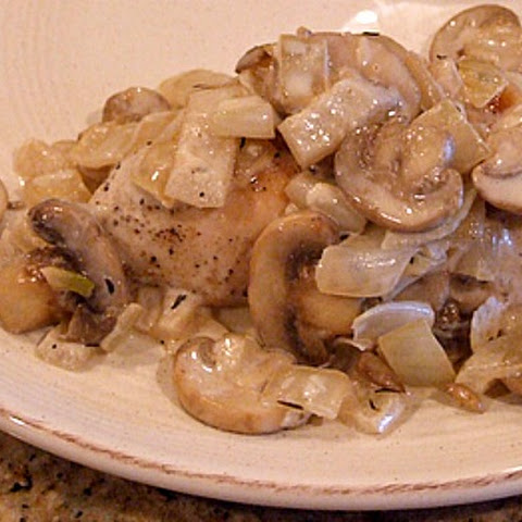Sauteed Chicken Breasts with Mushroom- Madeira Sauce