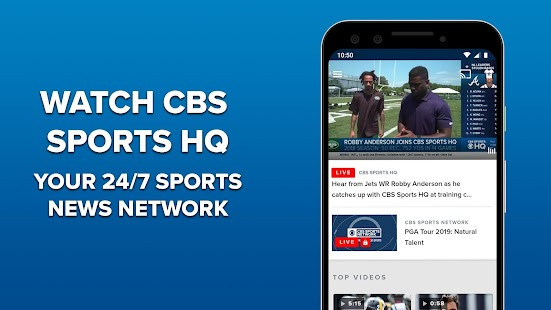 CBS Sports App - Scores, News, Stats & Watch Live for pc